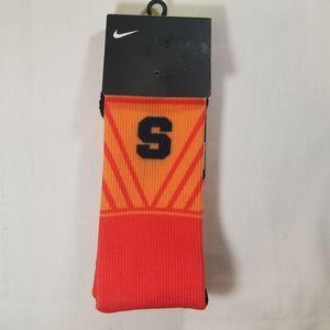 Nike Elite Syracus Orange Crew Socks